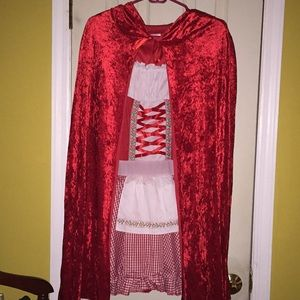 Other - Little Red Ridding Hood Costume